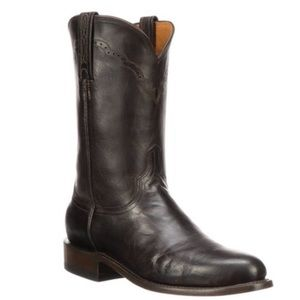 Lucchese Shane Boot in Chocolate